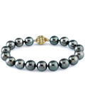 8-9mm Tahitian South Sea Pearl Bracelet - AAA Quality - Secondary Image