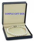 10-12mm White South Sea Pearl Necklace - AAA Quality - Fourth Image