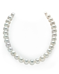 12-13mm White Freshwater Pearl Necklace - AAA Quality