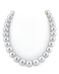 13-16.5mm White South Sea Pearl Necklace - GLA CERTIFIED AAAA Quality