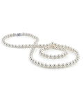 7.0-7.5mm Opera Length Japanese Akoya Pearl Necklace