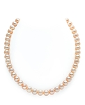 7-8mm Peach Freshwater Pearl Necklace - AAA Quality