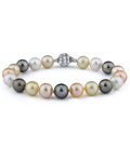 9-10mm South Sea & Freshwater Multicolor Bracelet - AAA Quality