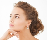 Japanese Akoya Pearl Classic Elegance Earrings - Third Image
