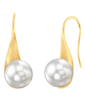 White South Sea Pearl Gaby Earrings - Third Image