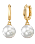 White South Sea Pearl Mary Earrings - Secondary Image