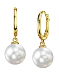 South Sea Pearl Tania Earrings - Model Image