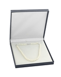 7.0-7.5mm Japanese Akoya White Pearl Necklace- AAA Quality - Fourth Image