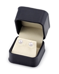 7.5-8.0mm Hanadama Akoya Pearl Stud Earrings - Fourth Image