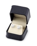 9mm South Sea Pearl Stud Earrings- Choose Your Quality - Fourth Image