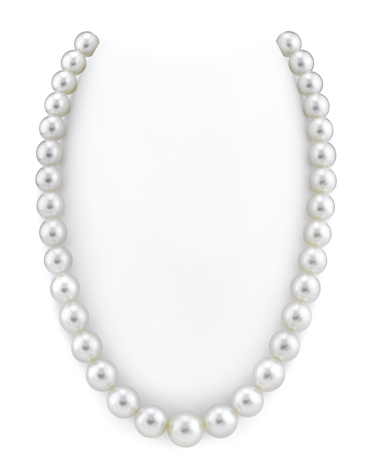 10-12mm White South Sea Pearl Necklace - AAA Quality