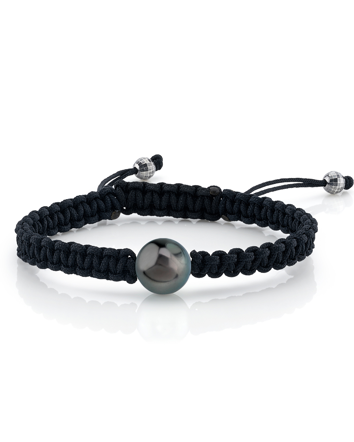 Tahitian South Sea  Pearl Braided Wave Bracelet - Various Sizes