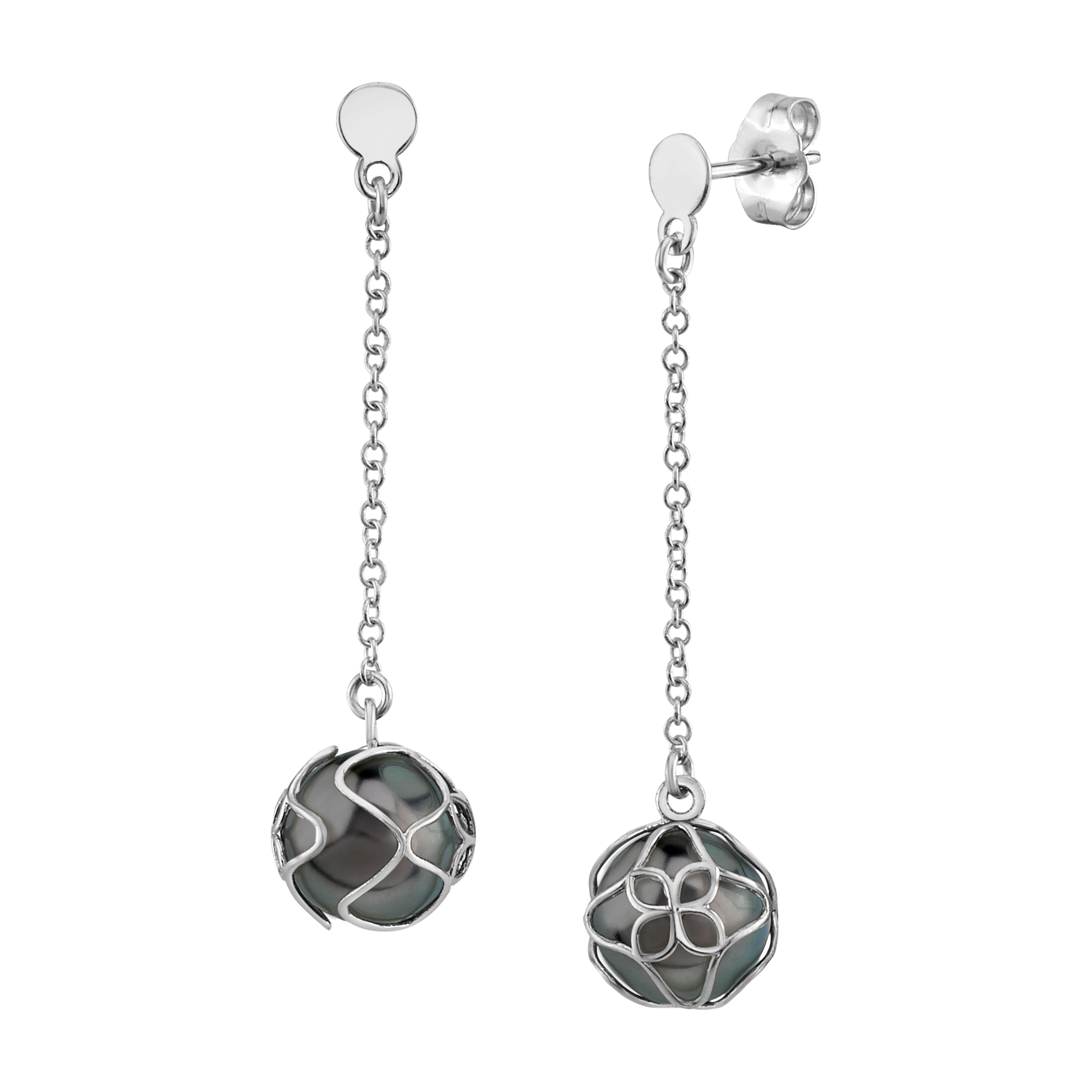Tahitian South Sea Pearl Cora Earrings