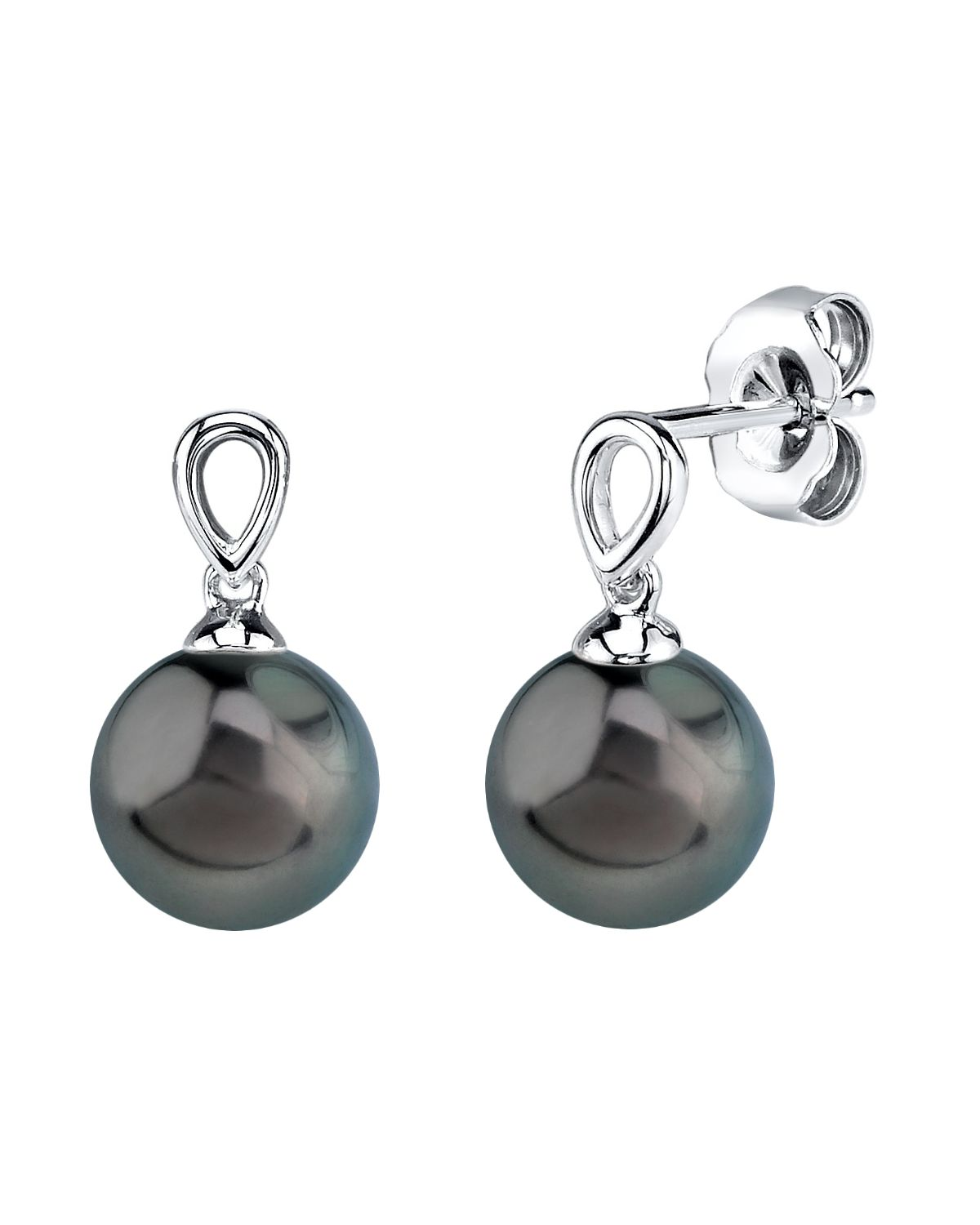 Tahitian South Sea Pearl Sherry Earrings